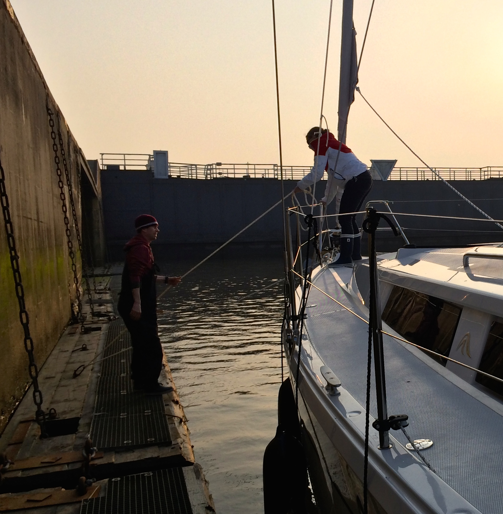 Kiel Docking